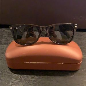 Ray Ban new wayfarer size 55 POLARIZED